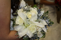 Lily and Rose Bridal Bouquet